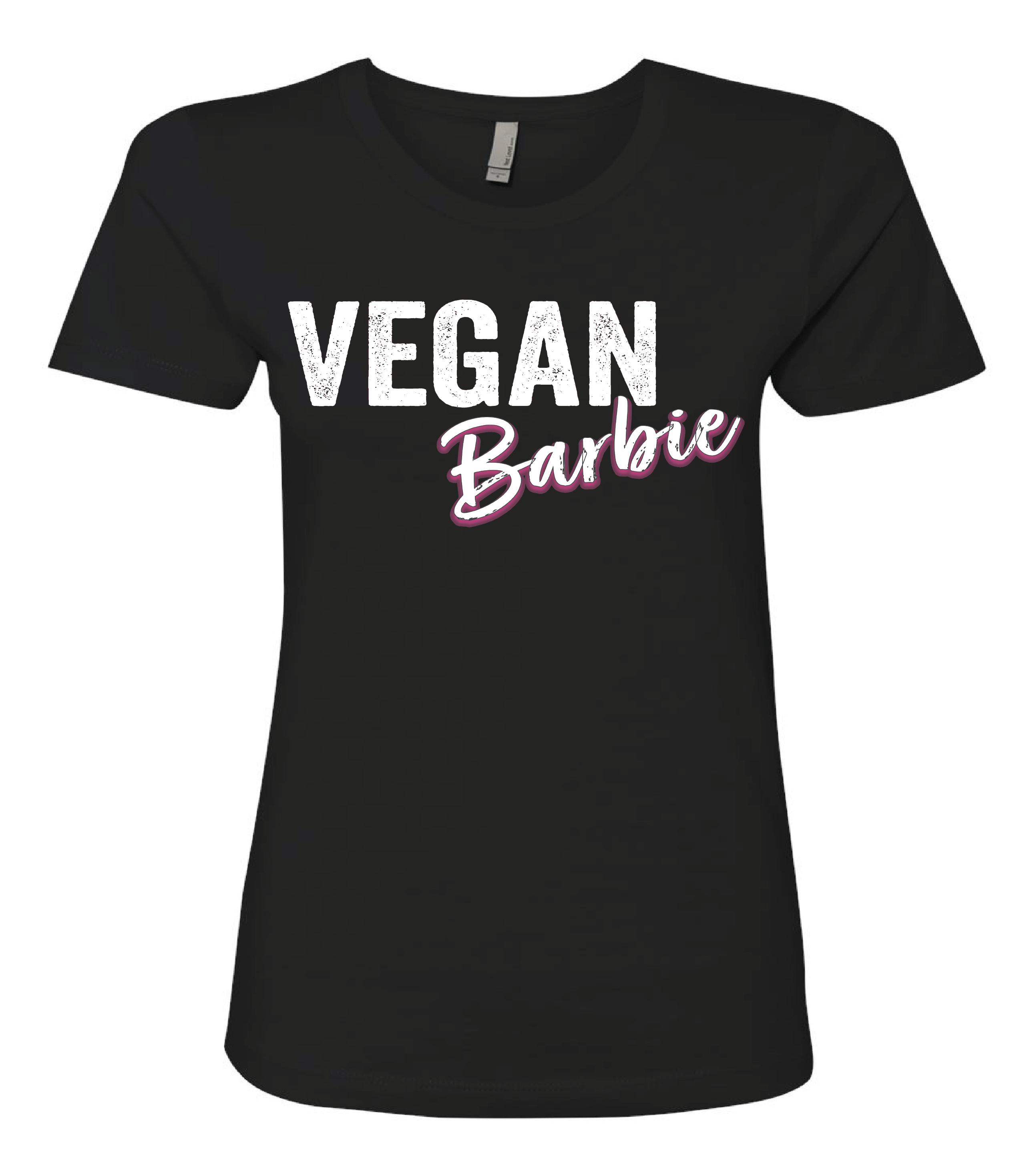 Vegan Graphic Tee, Vegan Barbie